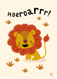Jungle kaart - Leeuw