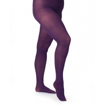 Opaque panty  50 denier Curvy - Purple