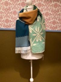 Wollen sjaal B(u)y Me - Flora