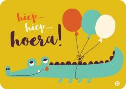 De hoera krokodil - Bora