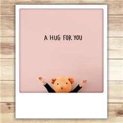 A hug for you kaart