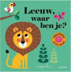 Flapjesboek Leeuw waar ben je ?