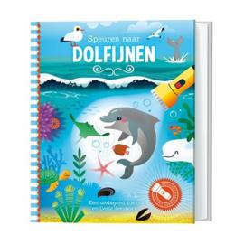 Zaklantaarnboek  Speuren naar dolfijnen