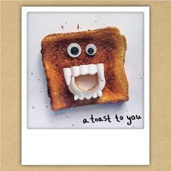 A toast to you kaart