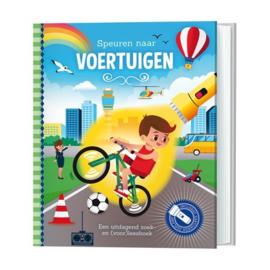 Zaklantaarnboek : Speuren naar voertuigen