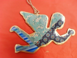Hangende engel - Japanse kers blauw