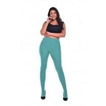 Opaque panty 50 denier Curvy - Aqua green