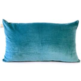 Kussen Lala blauwgroen - Imbarro