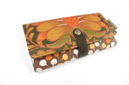 Wallet Orange flower - Huisteil