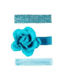Haarclips Julienne blauw