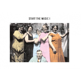 Start the music kaart