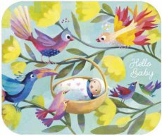 Welkom kleine baby kaart