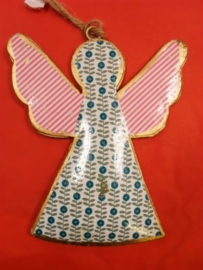Engel medium - Blauw met stip