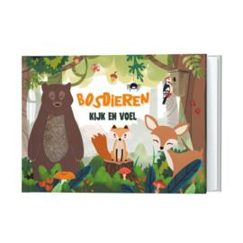 Kijk- en Voelboek - Bosdieren