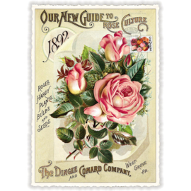 Sweet memories rozen glitterkaart