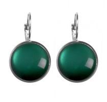 Oorbellen Dots - Glossy Evergreen
