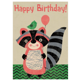 Happy racoon birthday