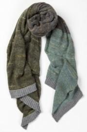 Wollen sjaal Eribé Knitwear - Treeline wrap Selkie