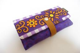 Wallet Purple orange - Huisteil