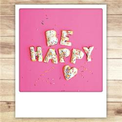 Be Happy kaart
