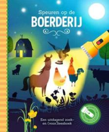 Zaklantaarnboek : Speuren op de boerderij