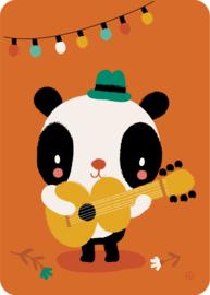 Panda kaart - By Bora