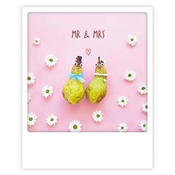 Mr. & Mrs. kaart