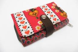 Double printed wallet Hartjes - Huisteil