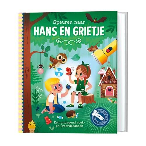 Zaklantaarnboek : Hans en Grietje