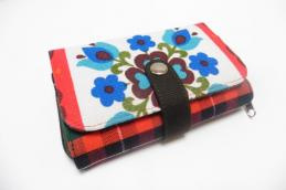 Double printed wallet - Huisteil