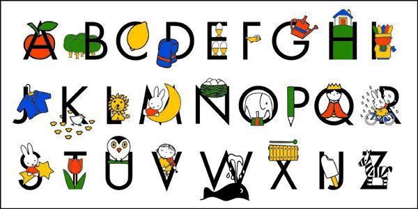 Nijntje XL - Alfabet