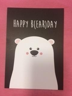 Happy B(ear) day