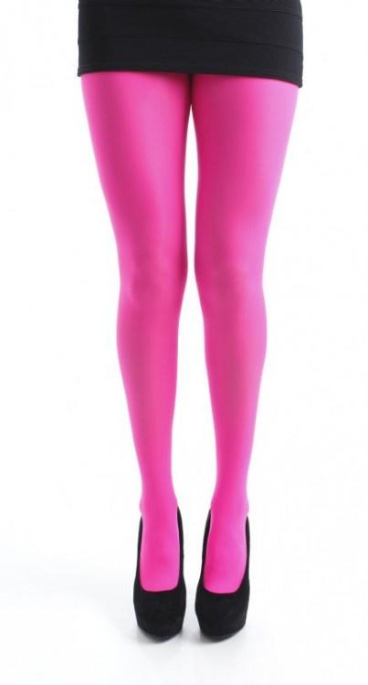 Opaque panty 50 denier - Flo Pink