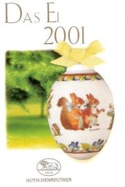 Paasei porselein 2001