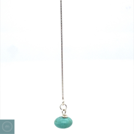 Oorketting Turquoise