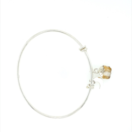 Birthstone Armband met Citrien