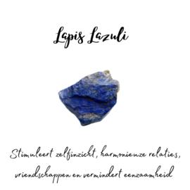 Lapis Lazuli creool small