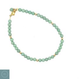 Jade armband mintgroen