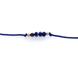 Wens armbandje Lapis Lazuli