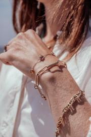 14 karaat schakel armband