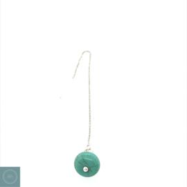 Oorketting Turquoise