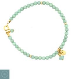 Armband Jade - Mint groen