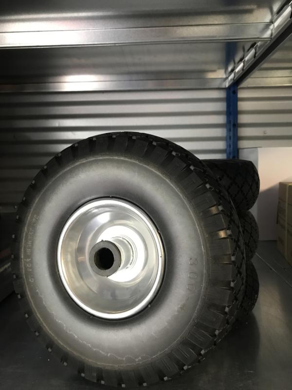 Wiel voor steekwagen / boottrailer