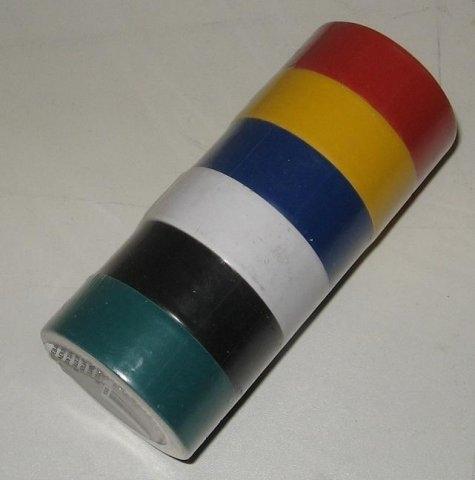 PVC isolatietape 6-pack