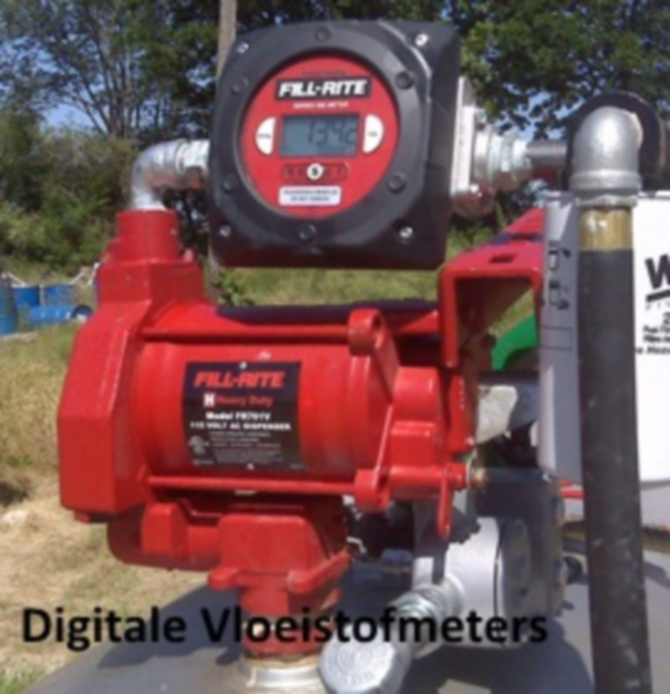 Fill-Rite Digitale meters