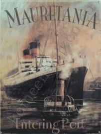 metalen wandplaat maurentania 30-40 cm