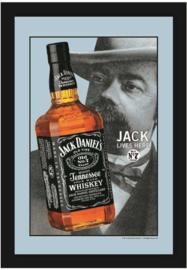 muurspiegel Jack Daniels