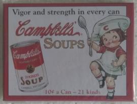 koelkastmagneet Campbell's soups