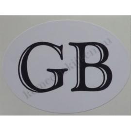 sticker ovaal Great Britain klassiek 9 bij 6,5 cm