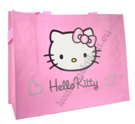 tas hello kitty roze